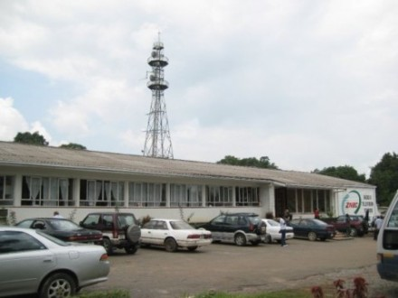 Zambia National Broadcasting Corporation office. Photo by Kitwe via Wikimedia Commons (CC BY-SA 3.0)