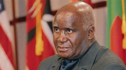 comrade dr. Kenneth David Kaunda