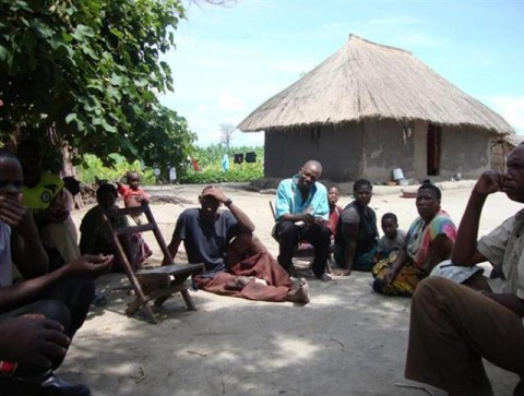 Basket finishing sites at the Chiwokwe Rivers