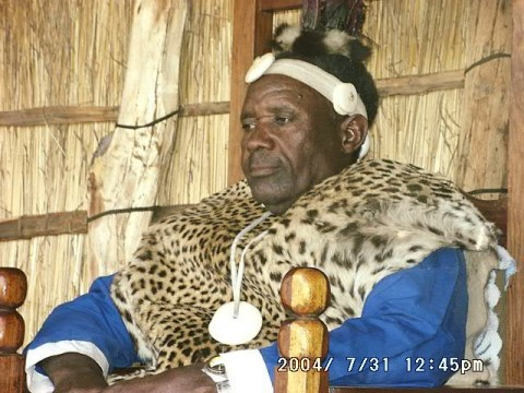Chief Mutondo of the Nkoya People of Kaoma District
