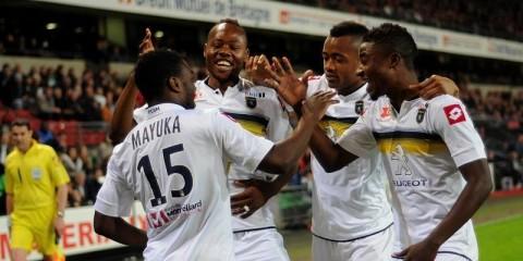 Chipolopolo forward Emmanuel Mayuka
