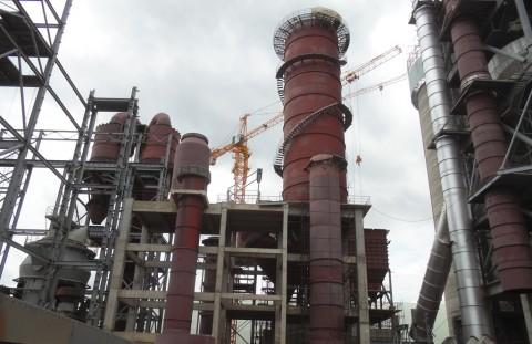 Dangote Cement plant in Masaiti