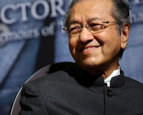 Former Malaysian Prime Minister Mahathir Mohamad. Pic- AP.