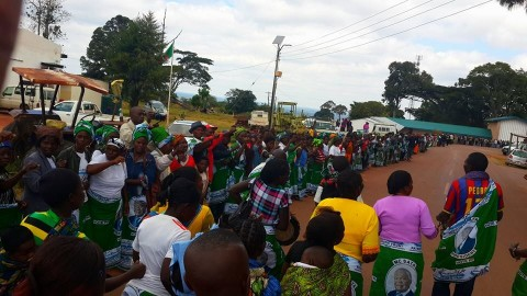 Kabimba - Many thanks to the people of Luwingu who lined up to welcome us in this district, where PF got its first ever MP just a couple of months after being formed in 2001.