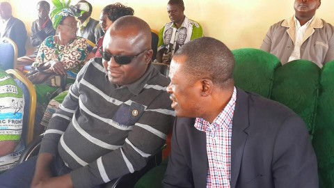 Kabimba With PF's first ever MP, my colleague Musonda Mpankata in Luwingu yesterday