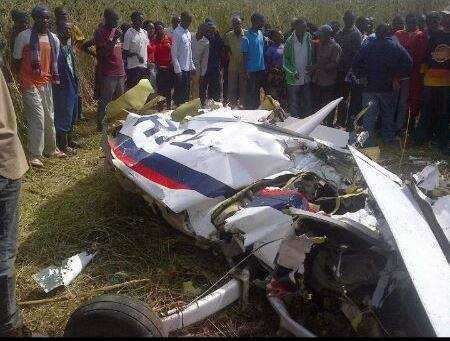 Minister of Defence Edgar Lungu has confirmed that a ZAF plane crashed during a routine training exercise. Zambia Air force (ZAF) deputy air commander Major General Muliokela Muliokela along with a Colonel Brian Mweene perished