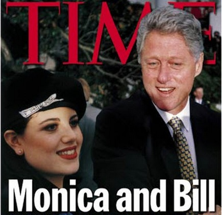 Monica Lewinsky, the former White House intern who is best known for having an affair with then-President Bill Clinton, says it's time to