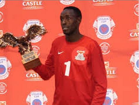 Munyau Danny 2013 Cosafa Senior Challenge best goalkeepe