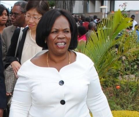 Nkandu Luo Screen Capture by lusakavoice.com 2014-05-18