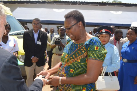 Province Permanent Secretary Edwidge Mutale