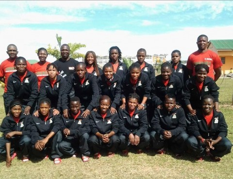 Senior Women Chipolopolo National Soccer team