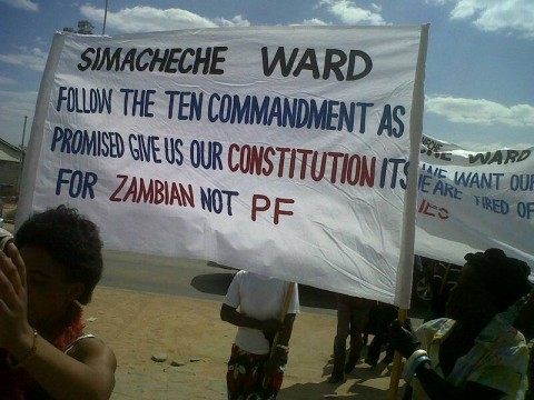 Simacheche ward wants the constitution