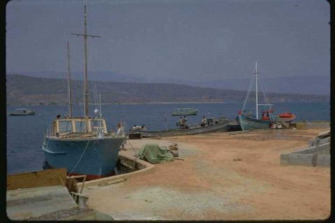 The fishing harbour at Mpulungu