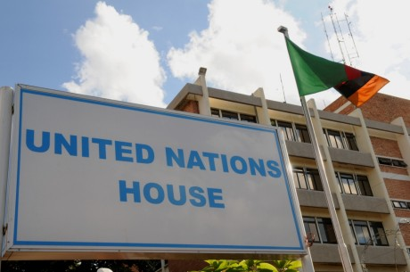 United Nations House This building houses the UNDP Country office in Zambia. Its situated along Alick Nkhata Road, Lusaka