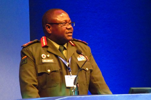 Zambia Army Deputy Commander Topply Lubaya