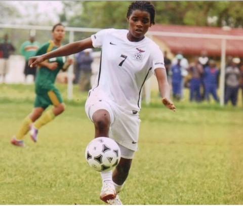 Zambia Women's Team have a feel of Rufaro turf