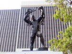 Zanco Mpundu Mutembo, Story behind the freedom statue