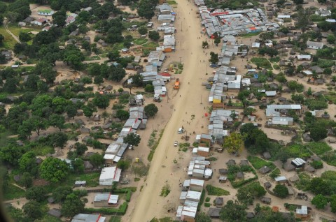 aerial photo of Lukulu