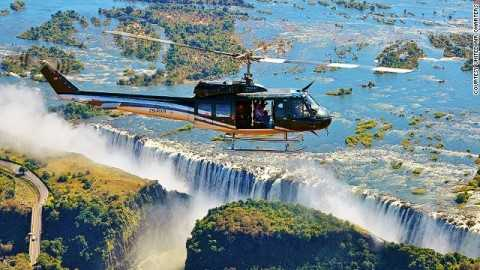 Victoria Falls one amazing ways to experience Africa from the air