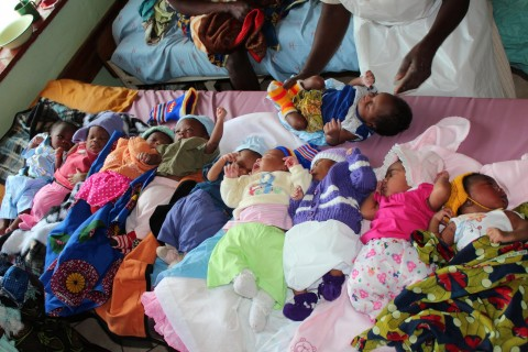 babies at Chitokoloki Mission Hospital