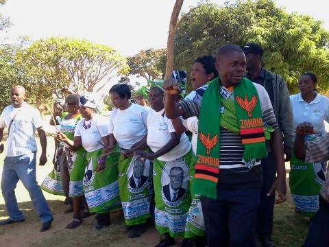 ANTI- KABIMBA PROTEST IN KASAMA