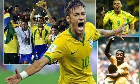 Brazil against Cameroon is a landmark fixture for the South American nation as they become only the second country after Germany to play in 100 World Cup