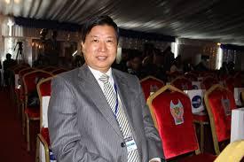 Chinese Ambassador to Zambia, Zhou Yuxio