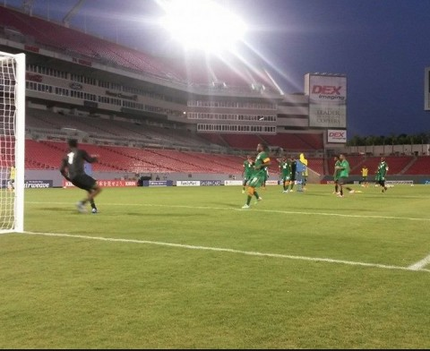 Chipolopolo at Raymond James stadium