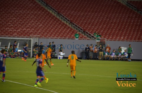 Chipolopolo - Japan vs. Zambia | Raymond James Stadium