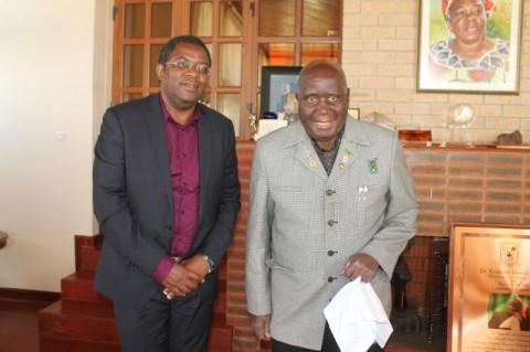 Dr Aubrey Chibumba and Dr Kaunda