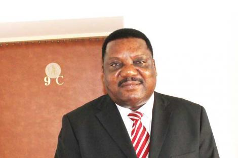 Namibian High Commissioner to Zambia Leonard Nambahu
