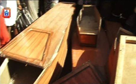 Pastor Francis Musonda of Arise and Shine Church said people were wrong to conclude he is practicing Satanism just because he was found in with coffins.