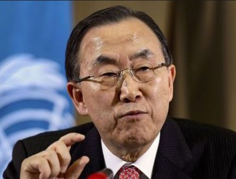 UN Secretary-General Ban Ki Moon