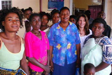 Women at the ASAZA center in Mazabuka, Zambia, which supports survivors of gender-based violence (Photo by Emily Travis:DFID).
