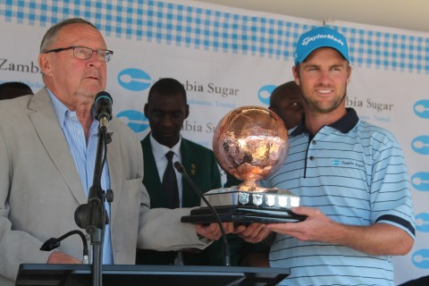 prize giving and closing ceremony that took place on Sunday, 8th June 2014 at the Lusaka Golf Club.