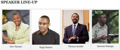 Zambia Golden Jubilee Celebration in Atlanta - SPEAKER LINE-UP