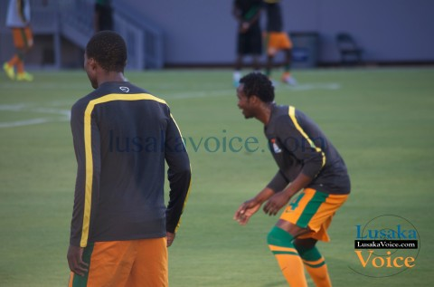 Zambia Vs Japan - Chipolopolo -Warm up