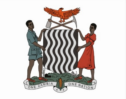 Zambia court or arms