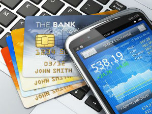 mobile banking application.