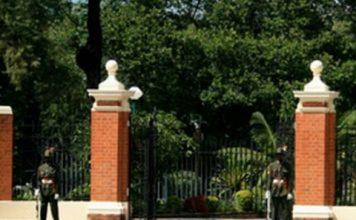 zambia state house gate