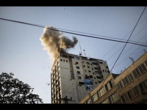 Gunshots fired at Al Jazeera bureau in Gaza