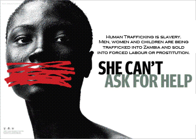 Human Trafficking zambia