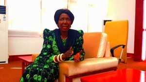 PATRIOTIC FRONT NATIONAL CHAIRPERSON INONGE WINA-