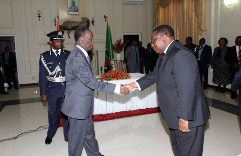Sata swears in Mwenye, Mwansa as Attorney General, Solicitor General