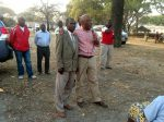 Dr Nevers Mumba introducing MMD candidate Charles Mwenzala. Mangango