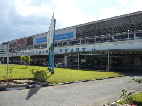 Lusaka Kenneth Kaunda lnternational Airport