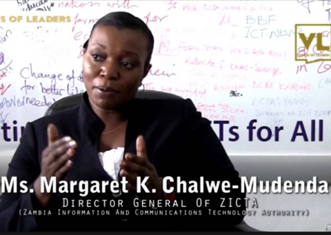 Margaret K. Chalwe-Mudenda, Director General, Zambia Information and Communications Technology Authority