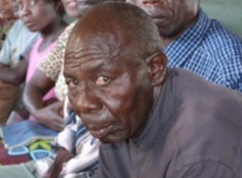 Member of Parliament (MP) for Mangango Constituency Lingweshi Lyambai