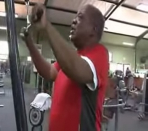 RUPIAH BANDA WORKING OUT AND KEEPING FIT