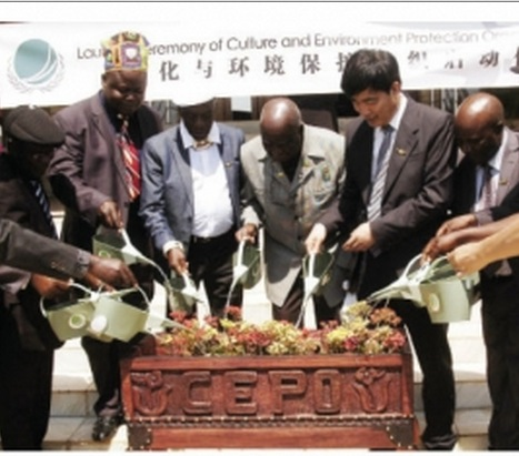 Kenneth Kaunda was yesterday officially appointed as honorary chairman of the Culture and Environment Protection Organisation (CEPO)
